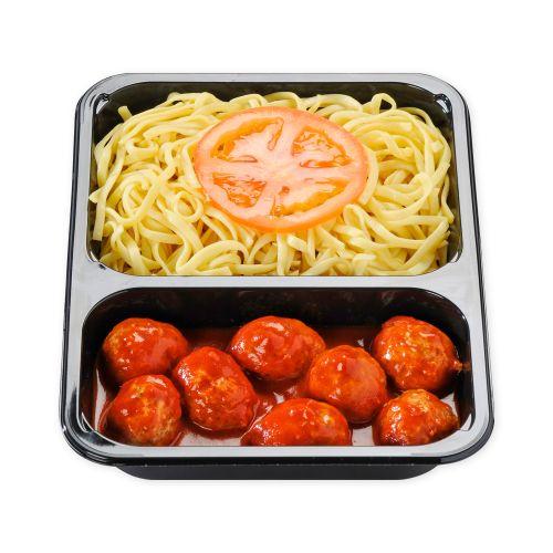 Boulettes sauce tomate-Pâtes