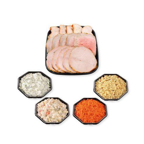 Plateau viande et salades 5 personnes