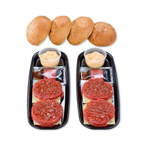 Colis 4 hamburgers
