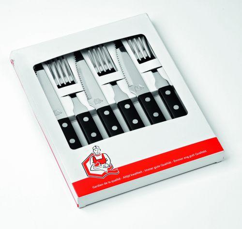 Set 3 couteaux et 3 fourchettes
